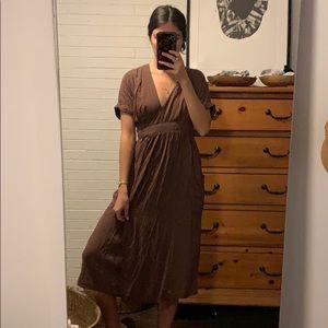 Urban Outfitters Wrap Dress Midi